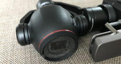 DJI OSMO+ Gimbal Cam - Zenmuse X3 Zoom Kamera
