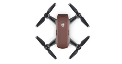 DJI Spark Line Friends Brown Drohne