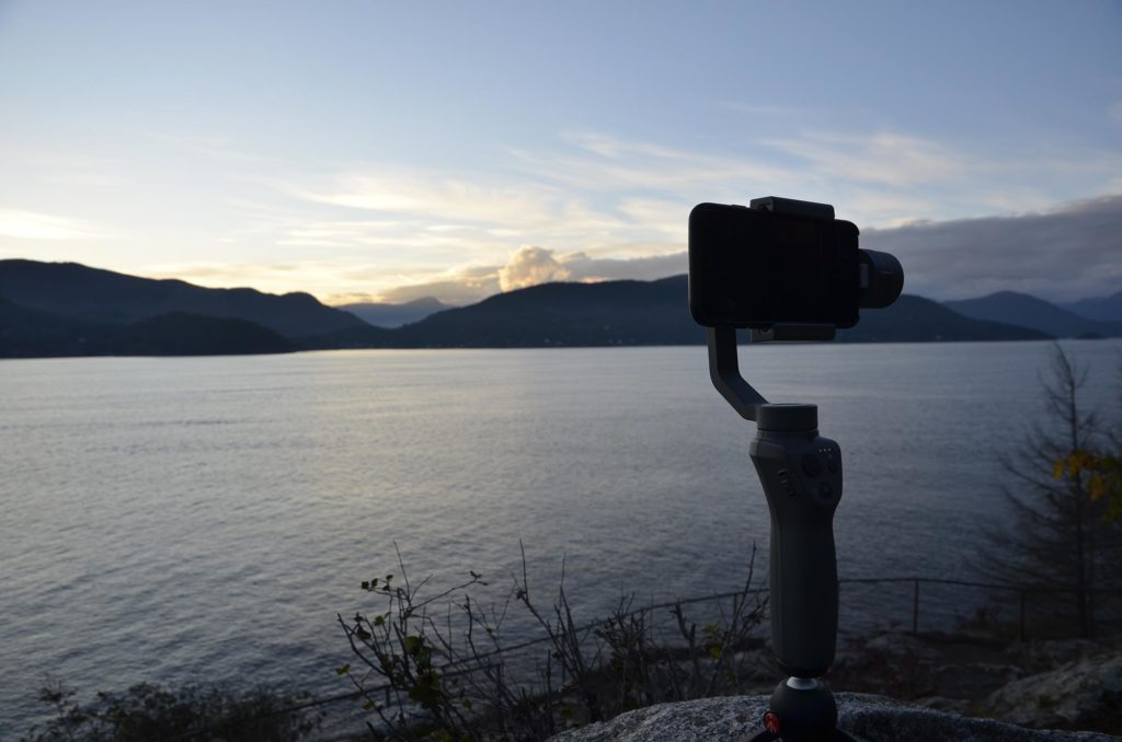 DJI OSMO Mobile 2 - Moving Timelapse bei Dämmerung