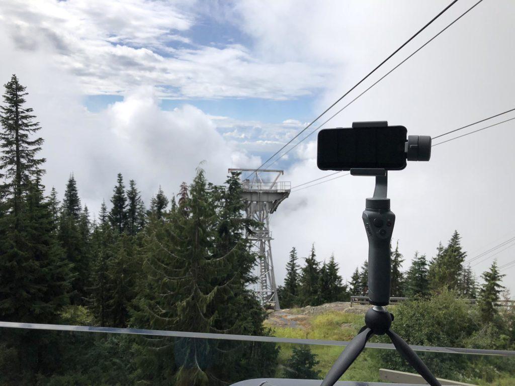 DJI OSMO Mobile 2 - Timelapse Aufnahme über den Wolken