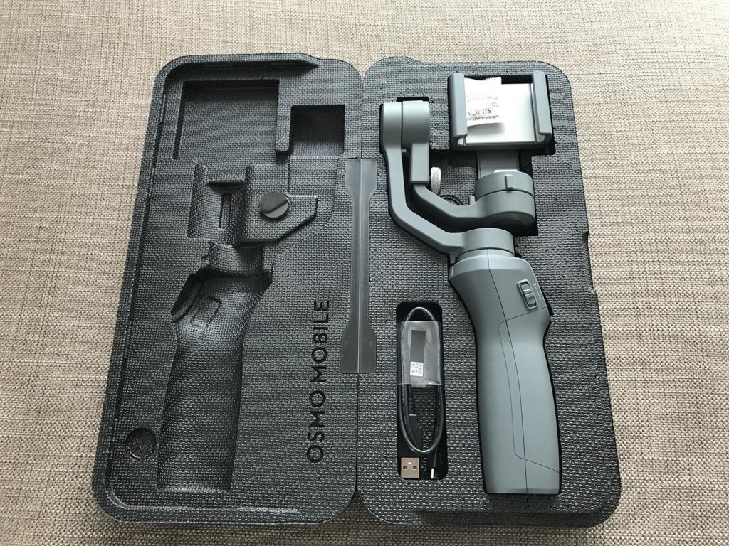 DJI OSMO Mobile 2 - Transportbox mit Gimbal