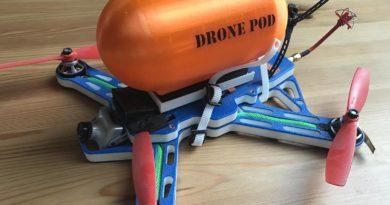Drone Pod - Montiert auf Gravitx 280