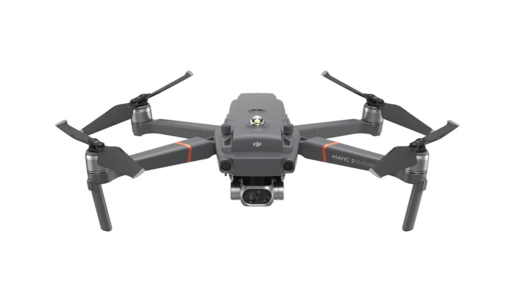 DJI Mavic 2 Enterprise Dual Drohne Wärmebildkamera