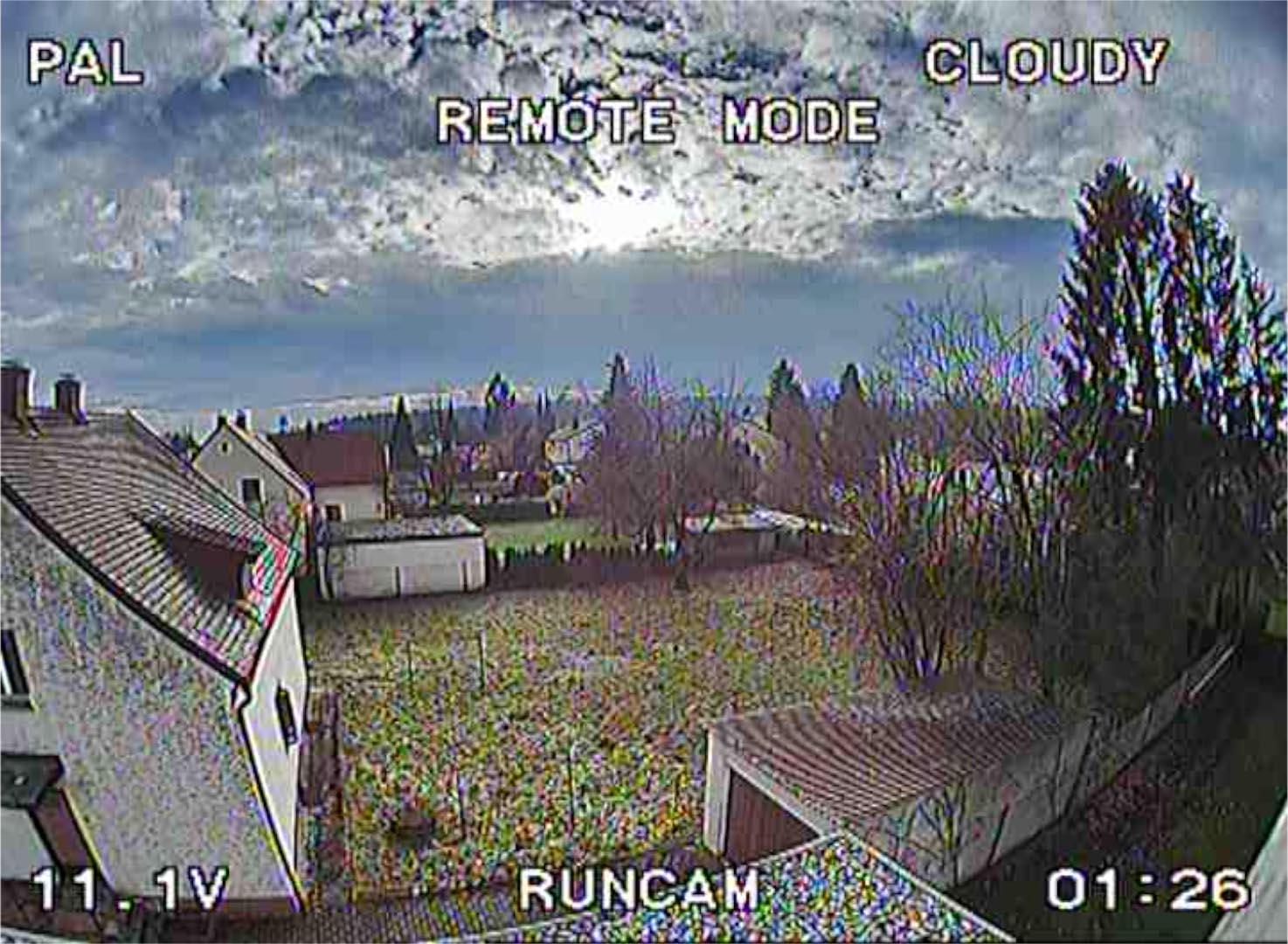 RunCam 2 Cloudy Setting