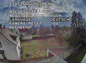 RunCam 2 Menü auf Deutsch