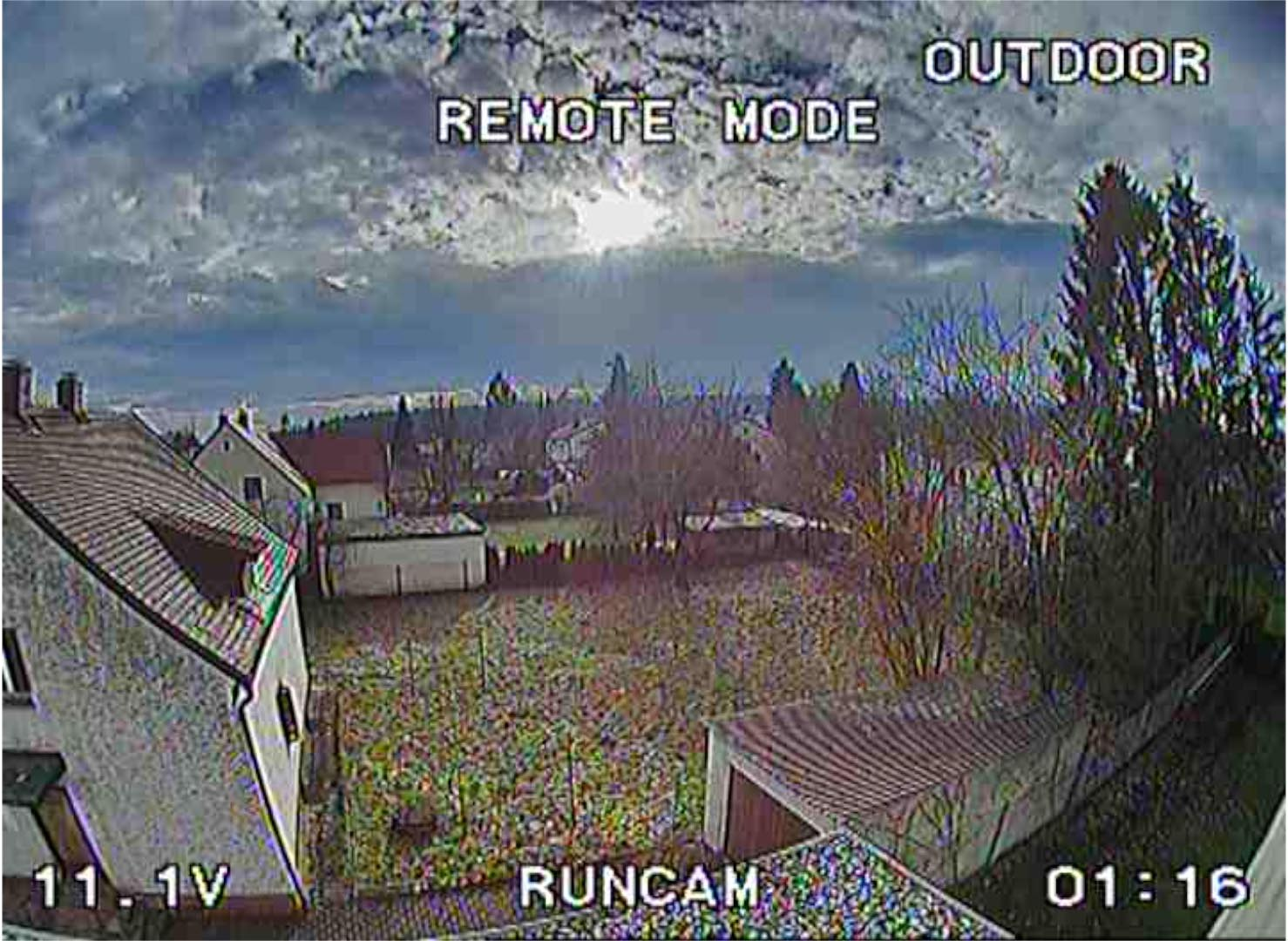 RunCam 2 Outdoor Setting