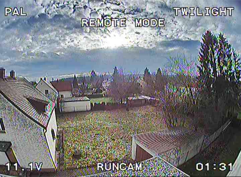 RunCam 2 Twilight Setting