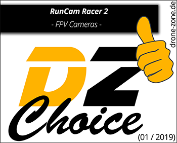 RunCam Racer 2 DZ Choice Award Web
