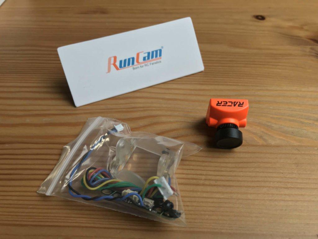 RunCam Racer 2 FPV Cam - Lieferumfang