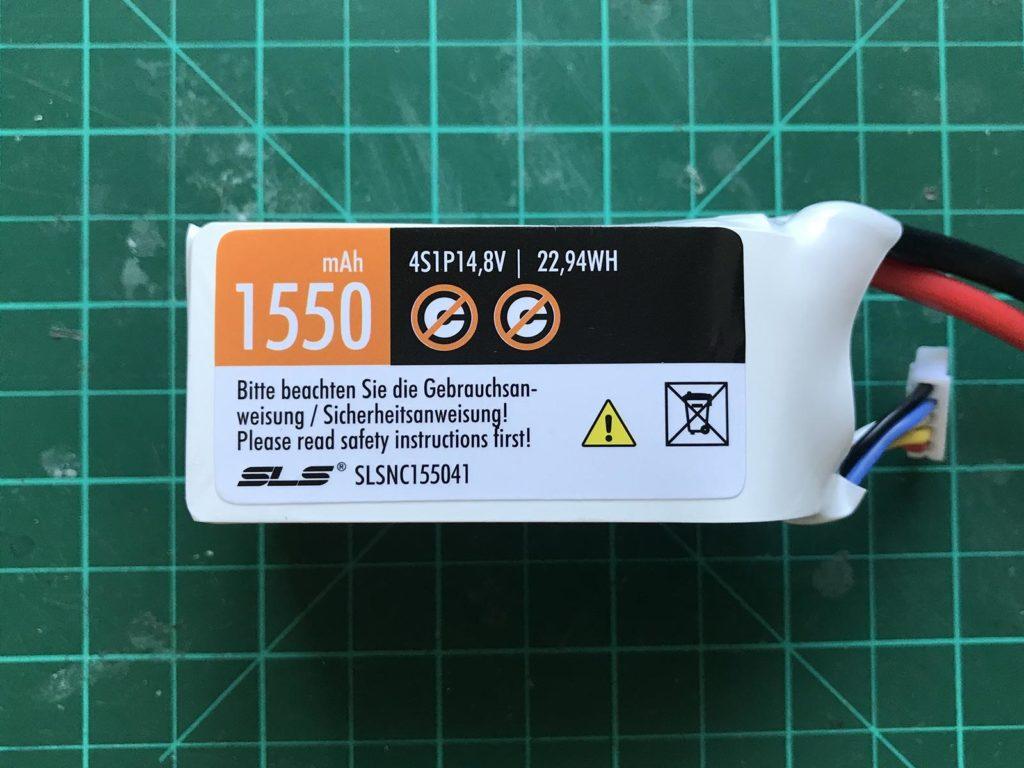 SLS NOC 4S 1550 mAh 2N - Front