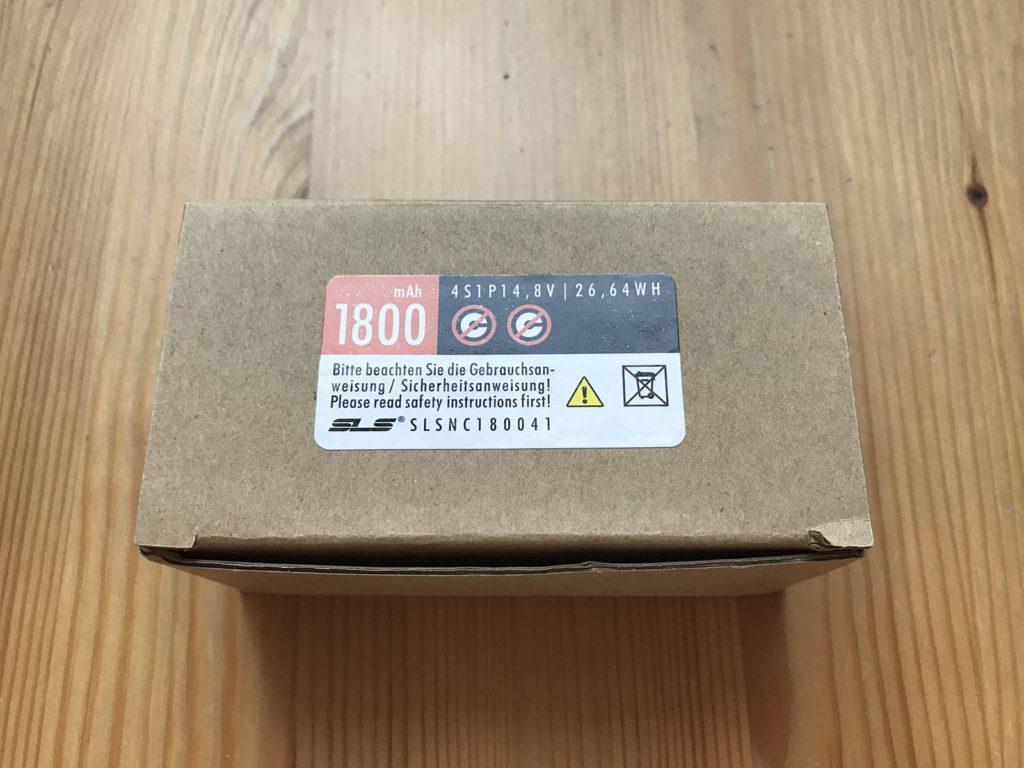 SLS NOC 4S 1800 mAh 2N - Box