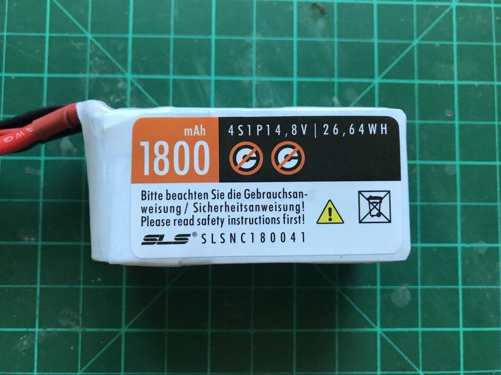 SLS NOC 4S 1800 mAh 2N - Front