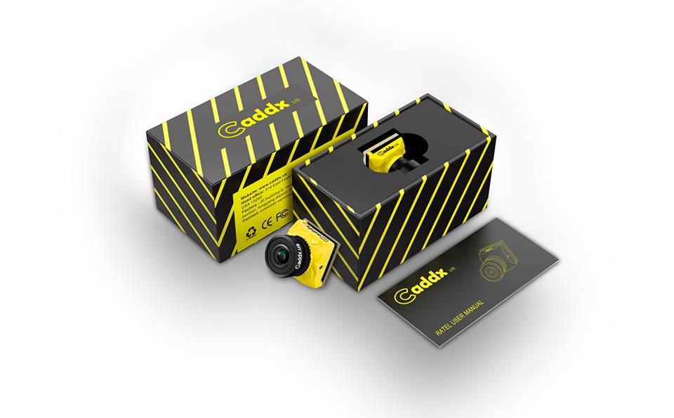 Caddx Ratel FPV Camera mit Box