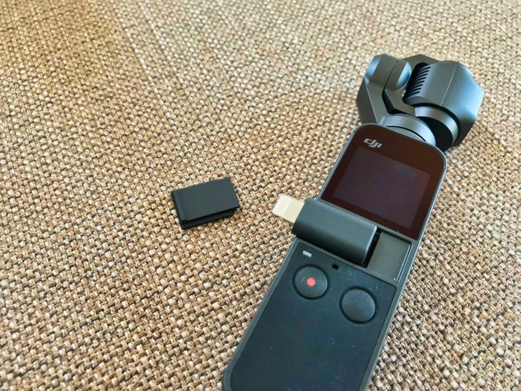 DJI Osmo Pocket - Lightning Adapter für iPhone