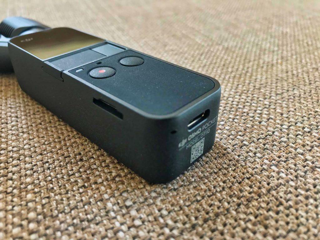 DJI Osmo Pocket - USB-C Schnittstelle