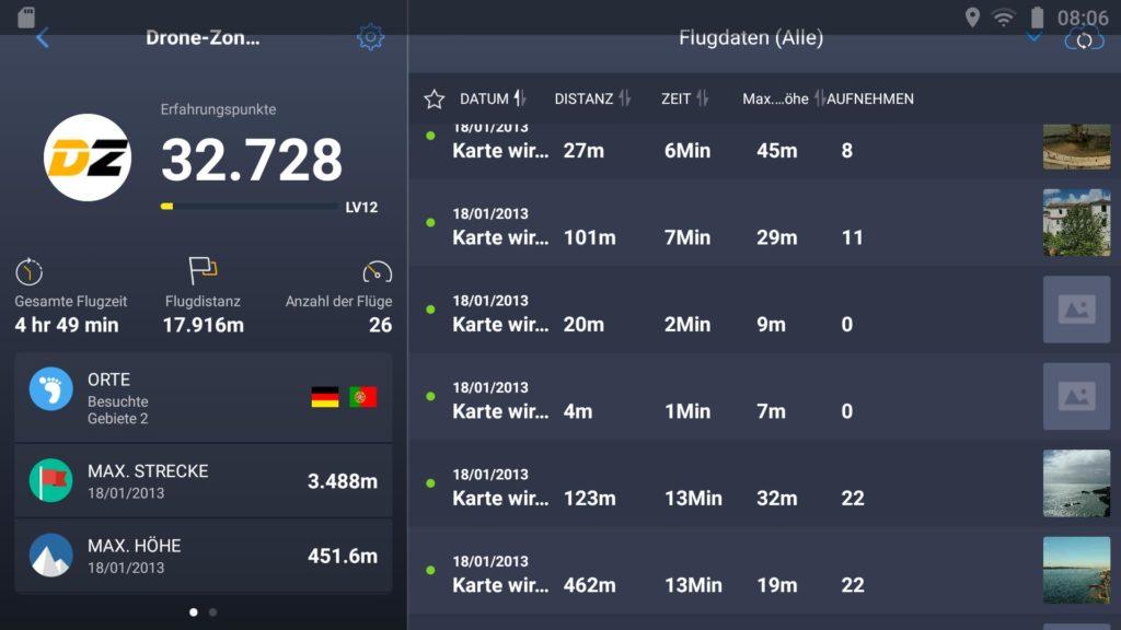 DJI Smart Controller Datum Uhrzeit Problem Falsche EXIF Daten - DJI Go App