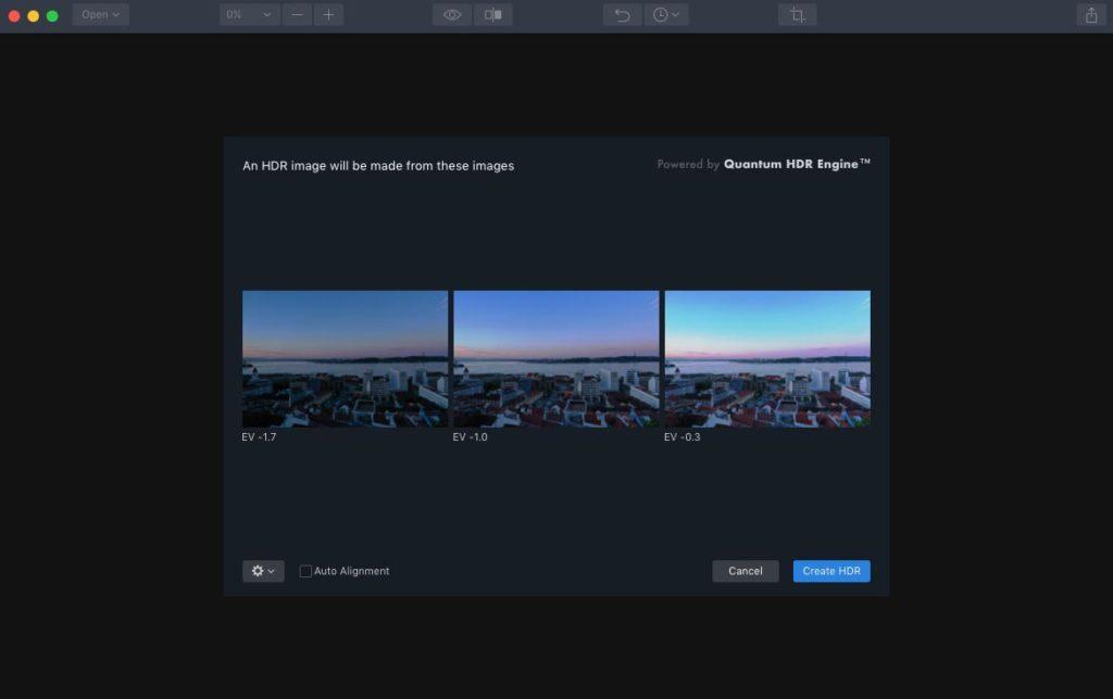 HDR-Fotos mit der Drohne - Aurora HDR 2019 Import