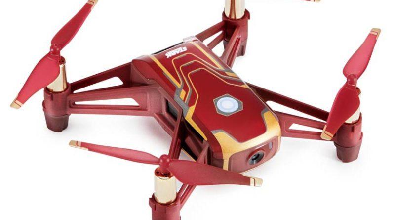 RYZE-Tello-Iron-Man-Edition-Schrägansicht