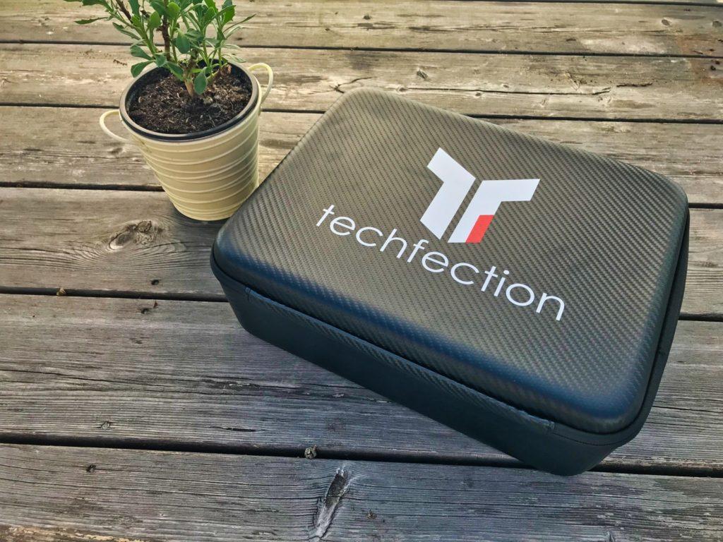 Techfection Koffer für DJI Mavic 2 - Geschlossen Oberseite