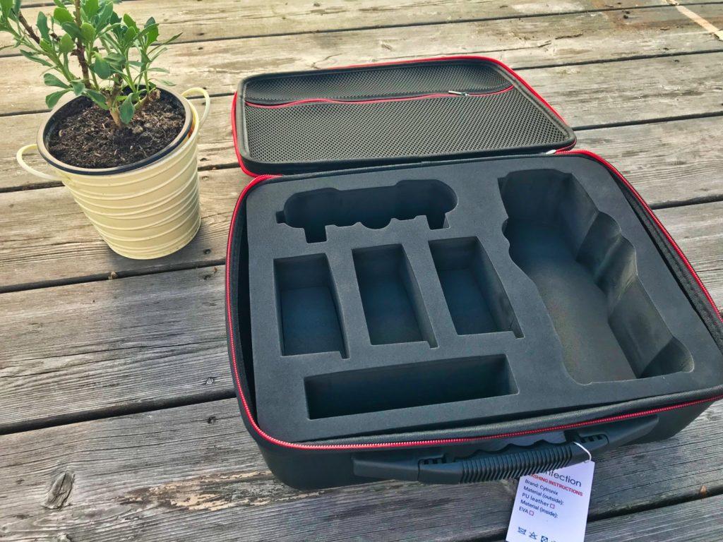 Techfection Koffer für DJI Mavic 2 - Offen Einlage