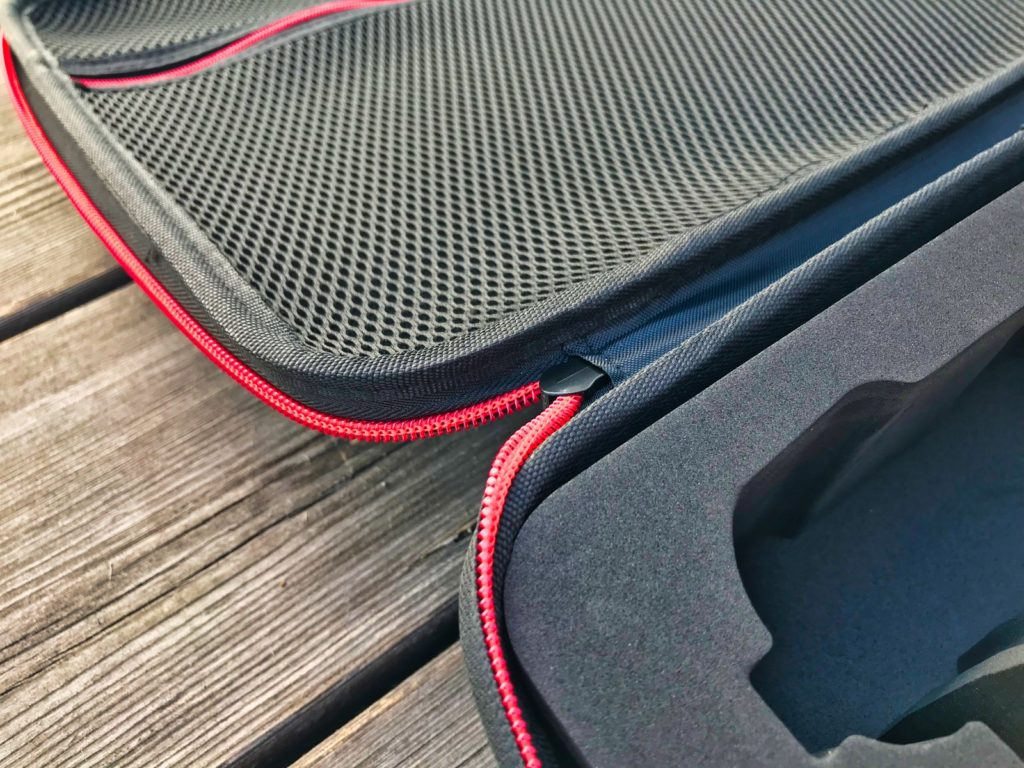 Techfection Koffer für DJI Mavic 2 - Reißverschluss