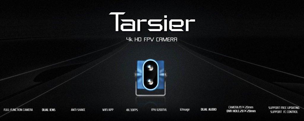Caddx Tarsier 4K FPV Cam Dual Lense Front
