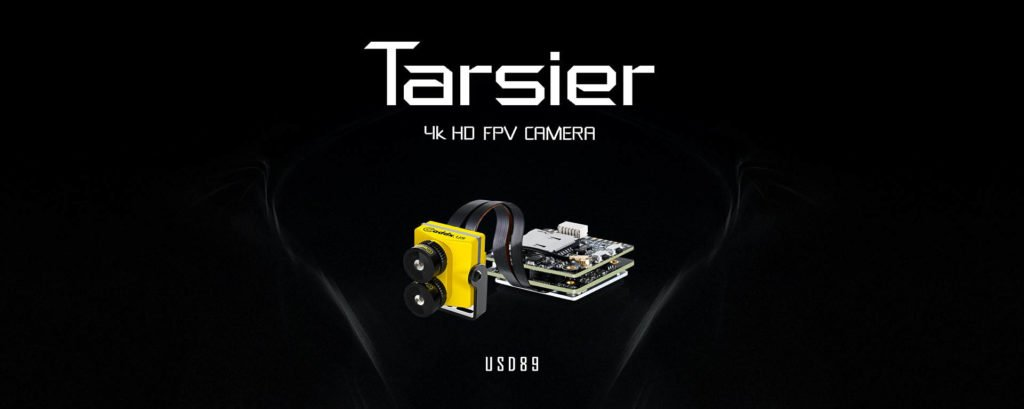 Caddx Tarsier 4K FPV Cam Dual Lense
