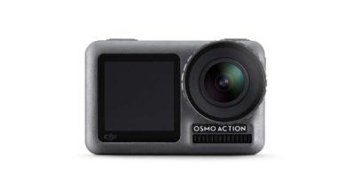 DJI Osmo Action Kamera Front