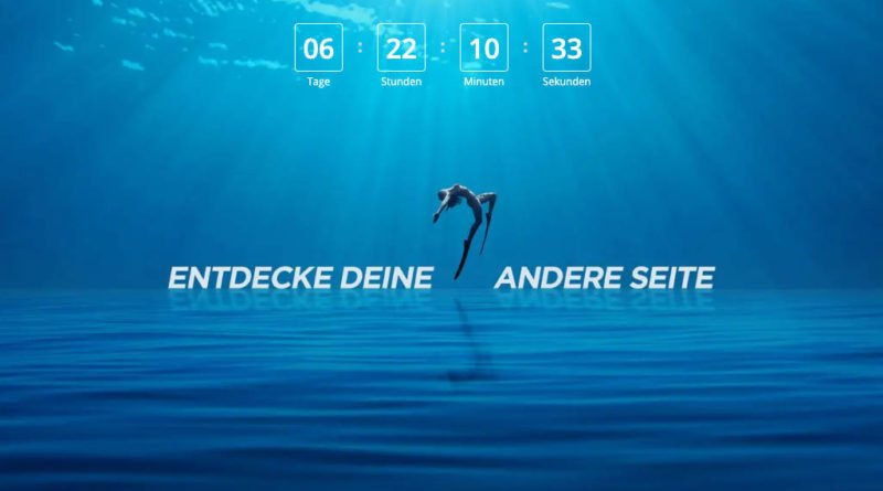 DJI Unleash Your Other Side Website Countdown Event