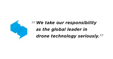 DJI Your Data is not our business Quote