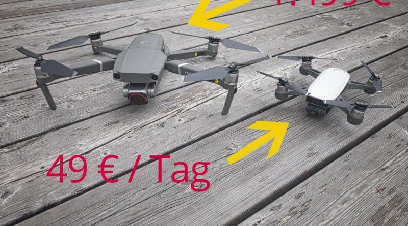Drohne Mieten oder Kaufen Teaser