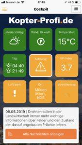 Kopter Profi App - Drohnen-Apps im Überblick