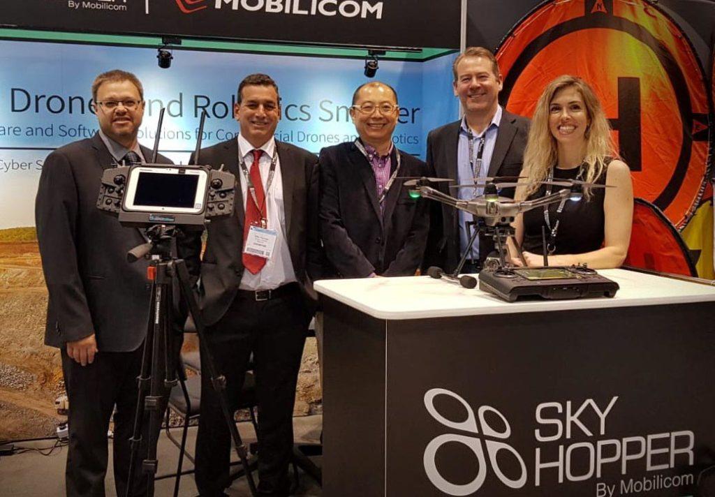 Yuneec_Mobilicom_H520 SkyHopper Pressebild