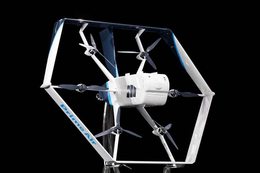 Amazon Prime Air Drohne auf der ReMars Konferenz in Las Vegas