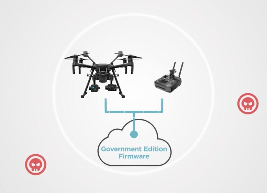 DJI Governance Edition Firmware für Behörden