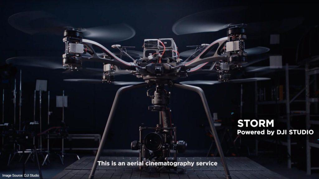 DJI Storm Drohne DJI Studio