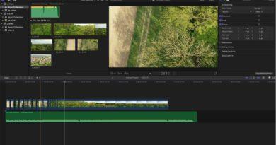 Final Cut Pro X - Videoschnittprogramm für Drohnenvideos