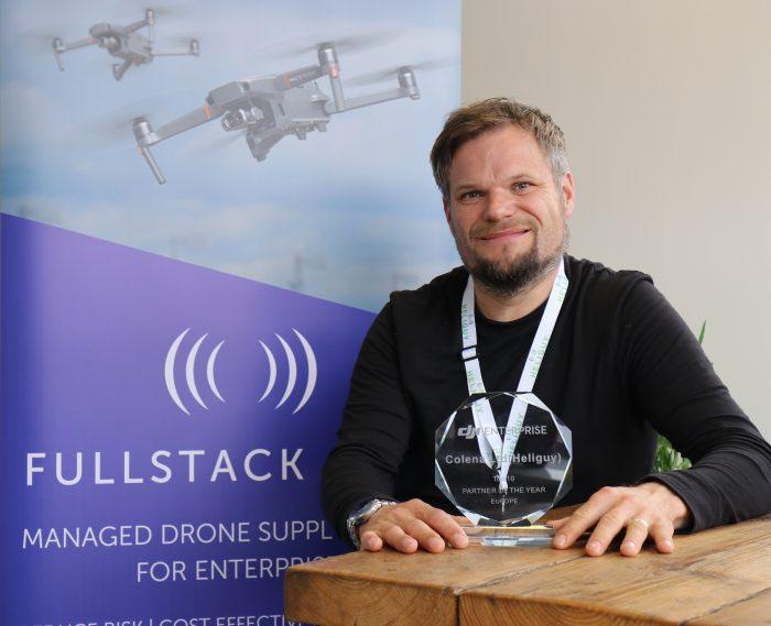 Heliguy Full Stack Service DJI Award