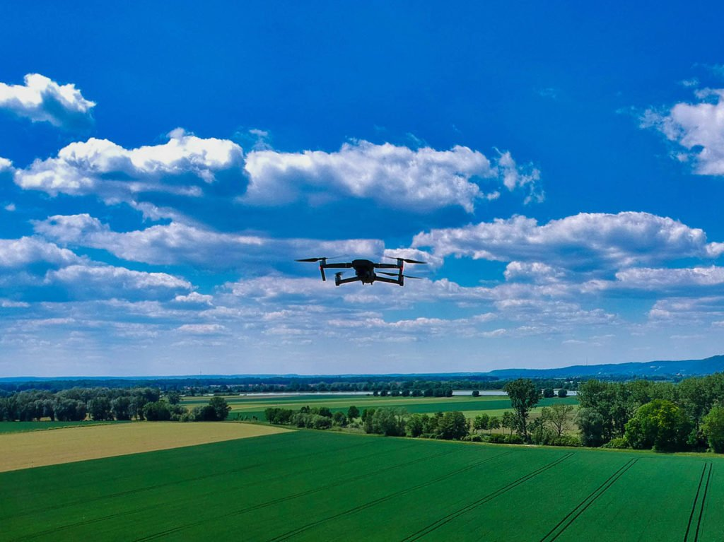 Mavic 2 Pro Drohne in der Luft