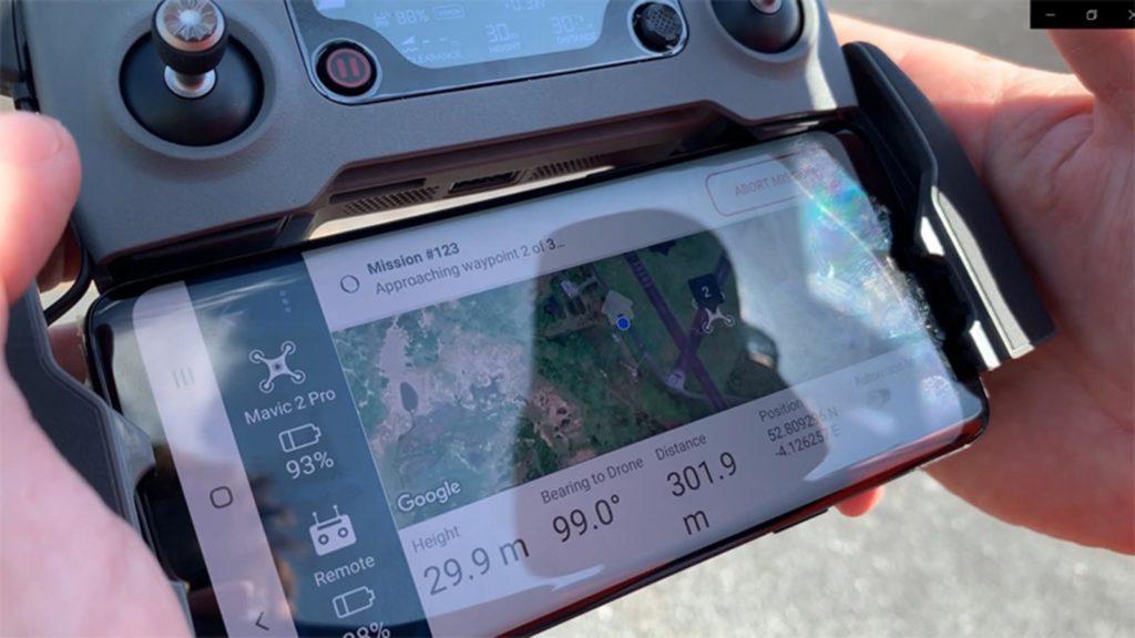 CASCADE App Wegpunkt Mission