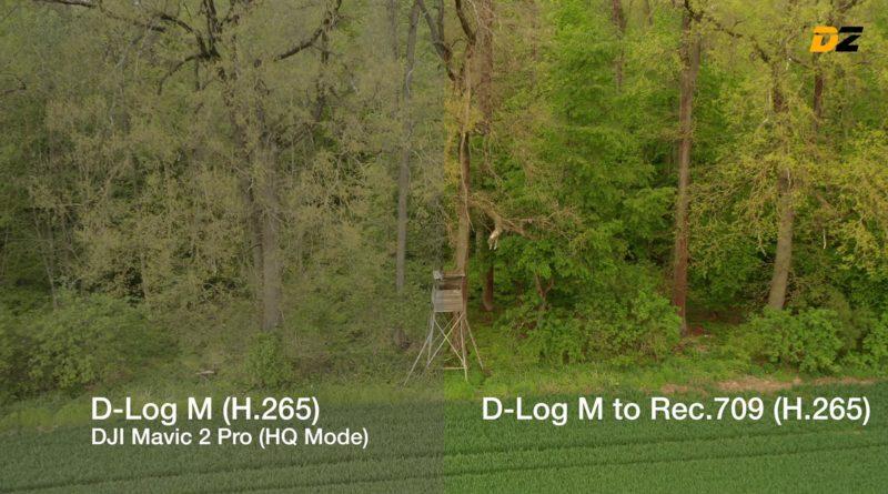 Color Grading mit LUTs - Mavic 2 Pro Beispiel