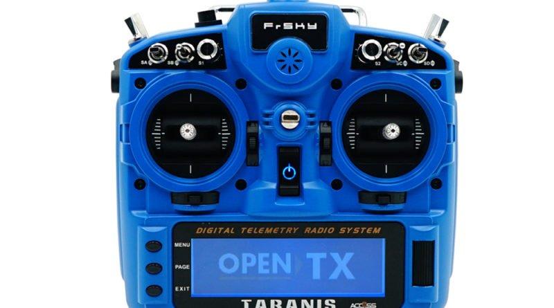 Frsky Taranis X9D Plus 2019 Blau