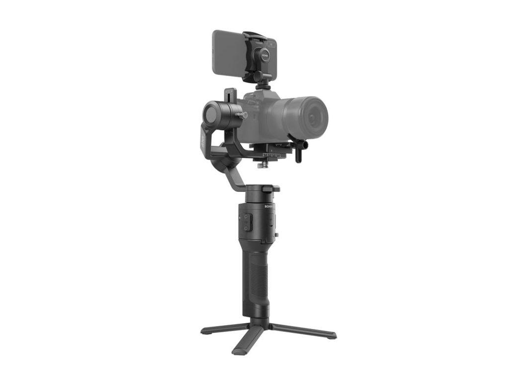 Ronin-SC Gimbal mit Kamera Schrägansicht