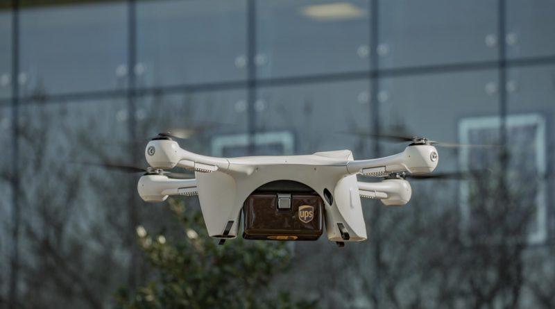 UPS Liefer Drohne für medizinische Proben