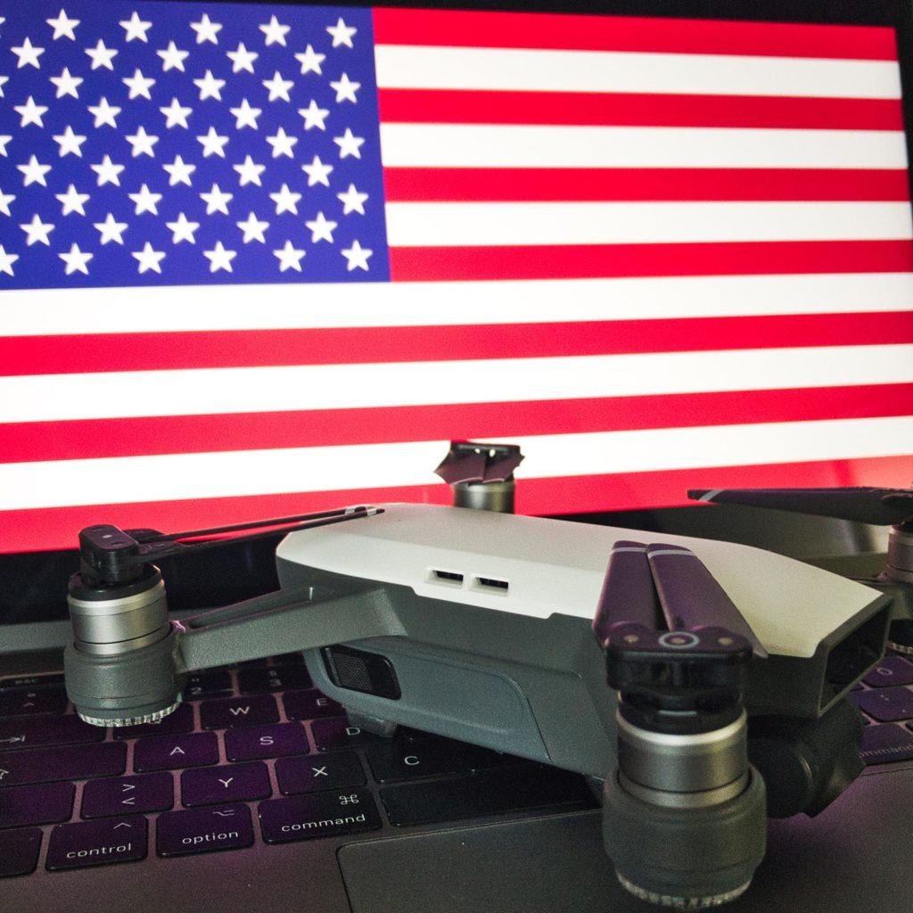Drohne in den den USA