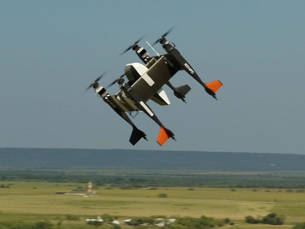 Bell APT 70 Drohne während eines Testfluges