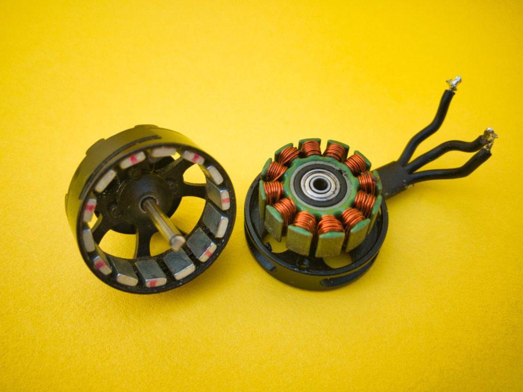 Die Nuten und Pole eines Motors bestimmen seine Charakteristik