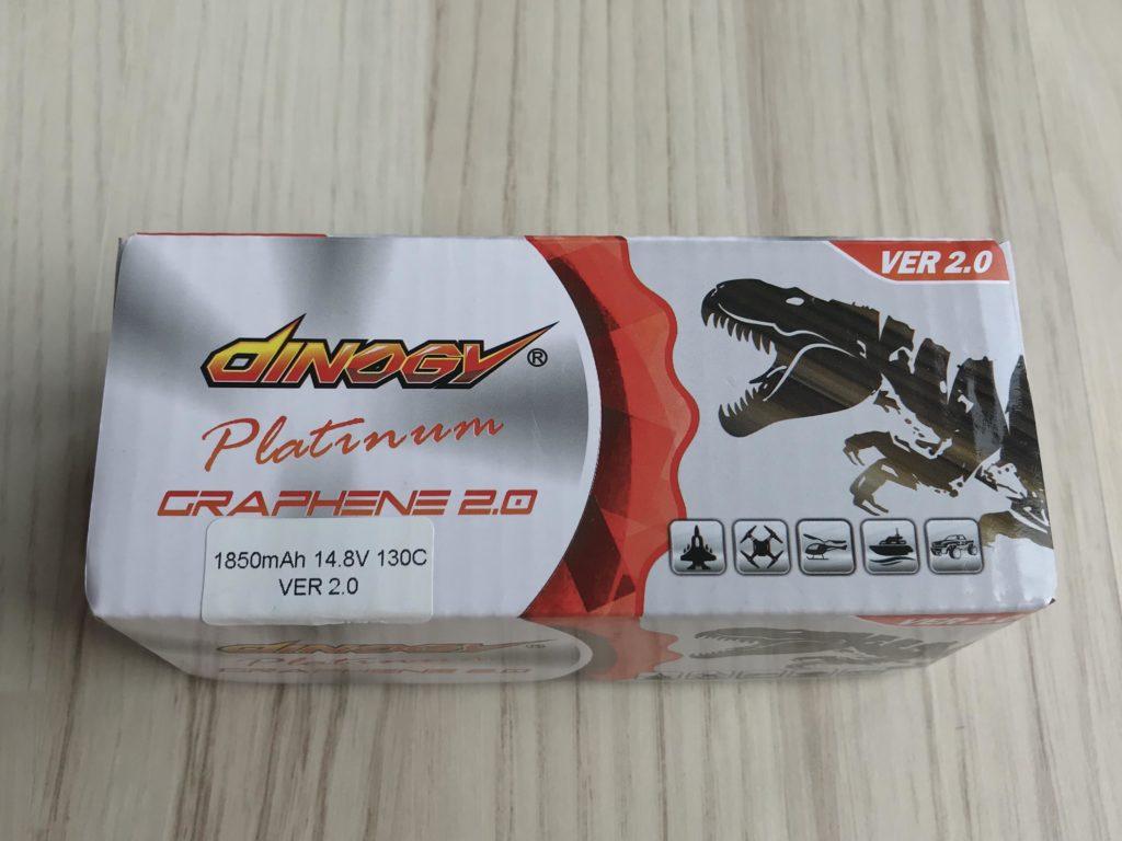 Dinogy Platinum Graphene 2.0 4S 1850 mAh 130 C V2.0 - Box