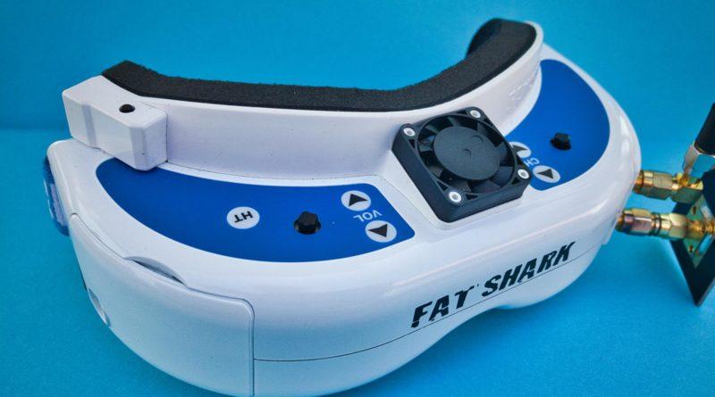 Fat Shark Dominator V2 Brille - Front