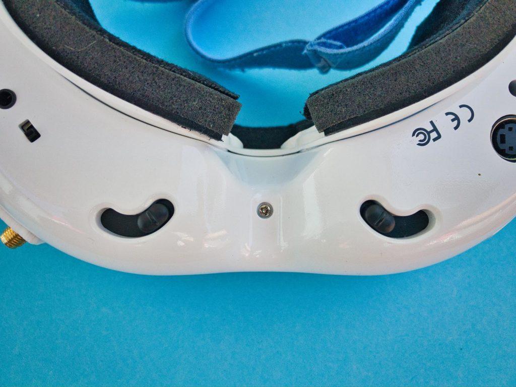 Fat Shark Dominator V2 FPV-Brille - IDP Einstellung